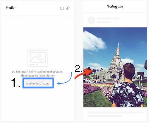instagram beiträge planen terminieren instagram scheduler